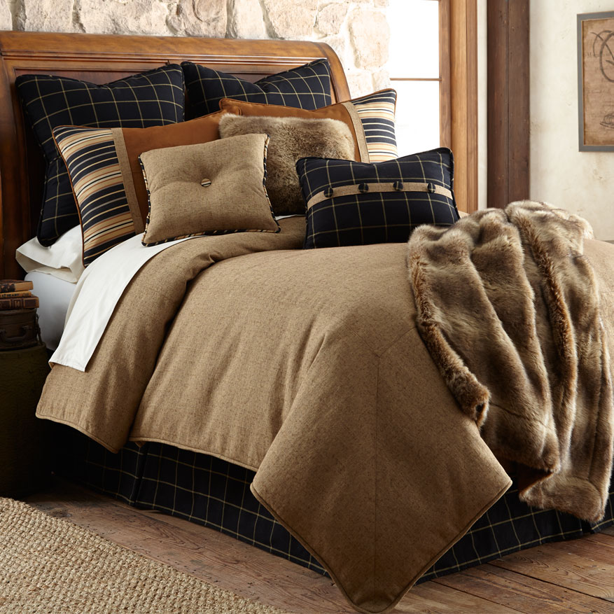 Bedding Decor: Luxury Rustic Bedding And Cabin Bedding