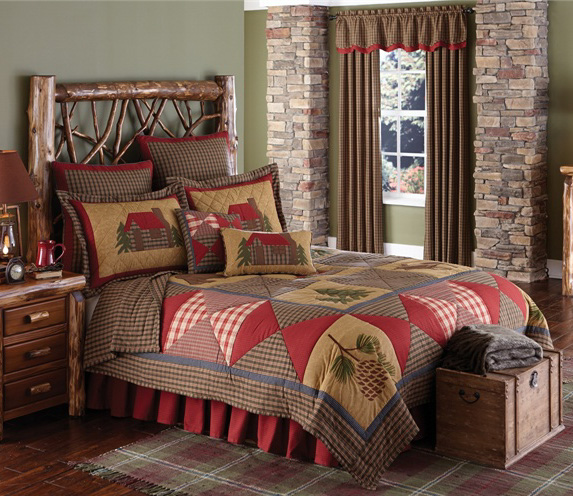 Cabin Lodge Rustic Decor | Cabin Lighting and Furniture | Cabin 9 ...