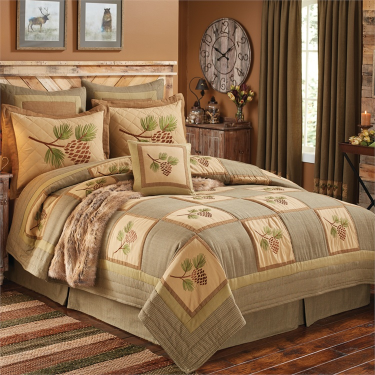 Pineview Quilt Beddign Ensemble