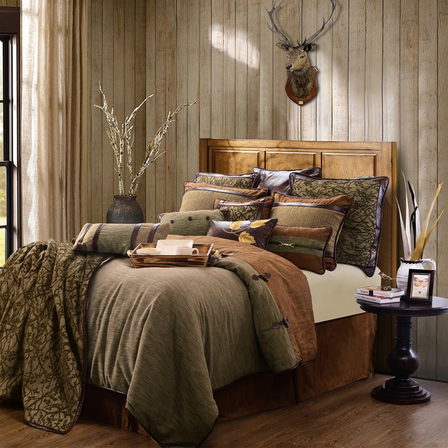 Lodge Bedroom Furniture Luxury Rustic Bedding And Cabin Bedding