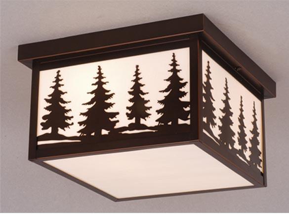 Rustic Ceiling Lights - Cabin9Design.com & Rustic Cabin Outdoor Lighting | Rustic Post Lights | Lodge Ourdoor ... azcodes.com