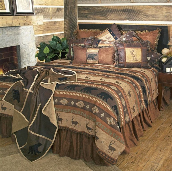 Autumn Trails Bedding Ensemble