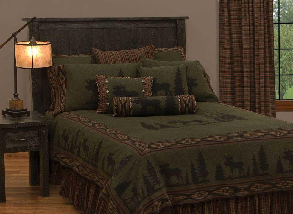 Dark Linen Bedding