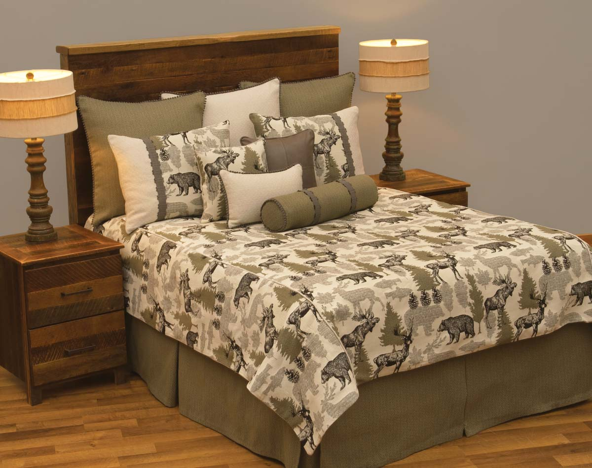 oc bedding bed dayansversion collection neutral rustic brown brighton sq