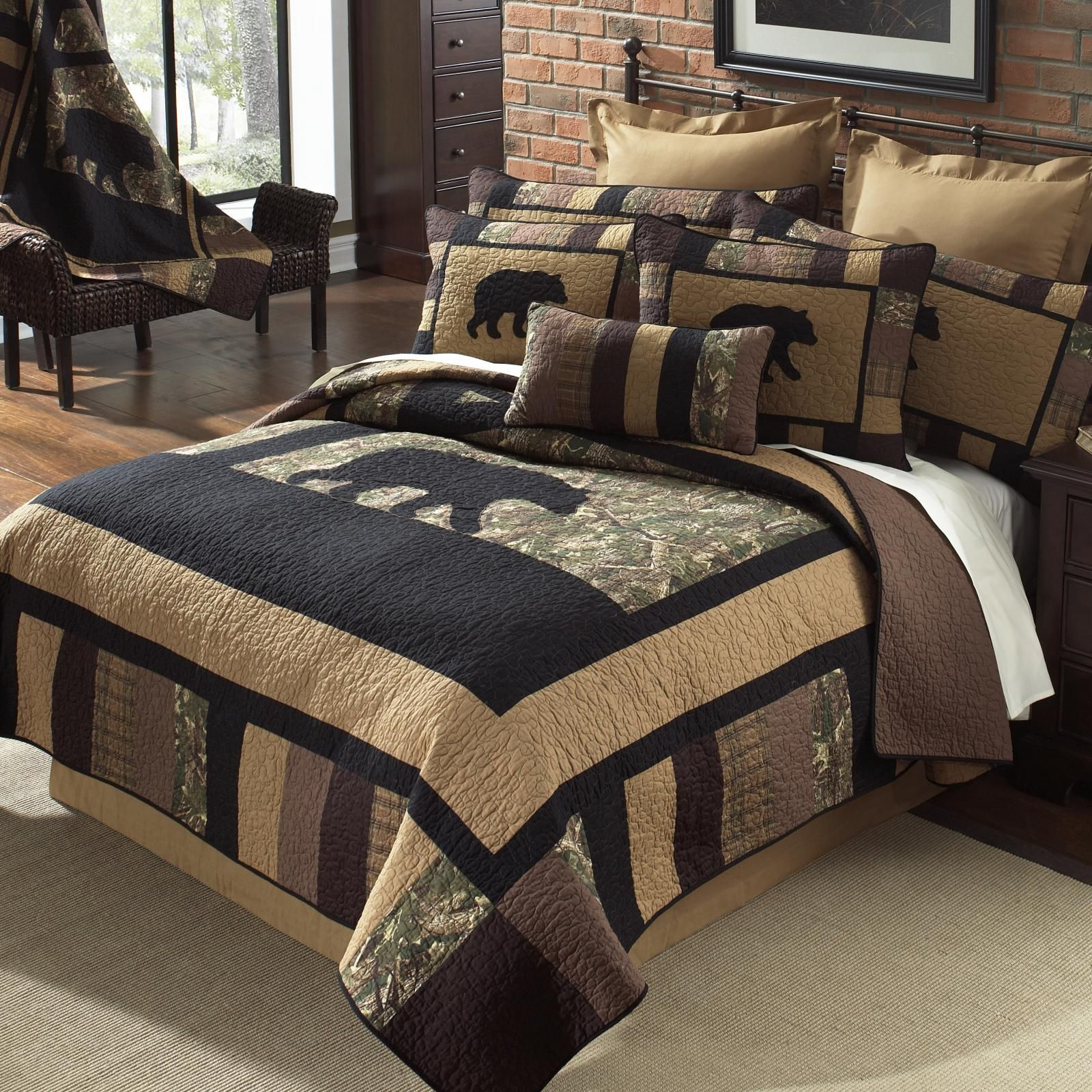 Big Bear Camo Bedding