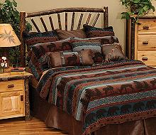 rustic calhoun bedding comforter collection set western