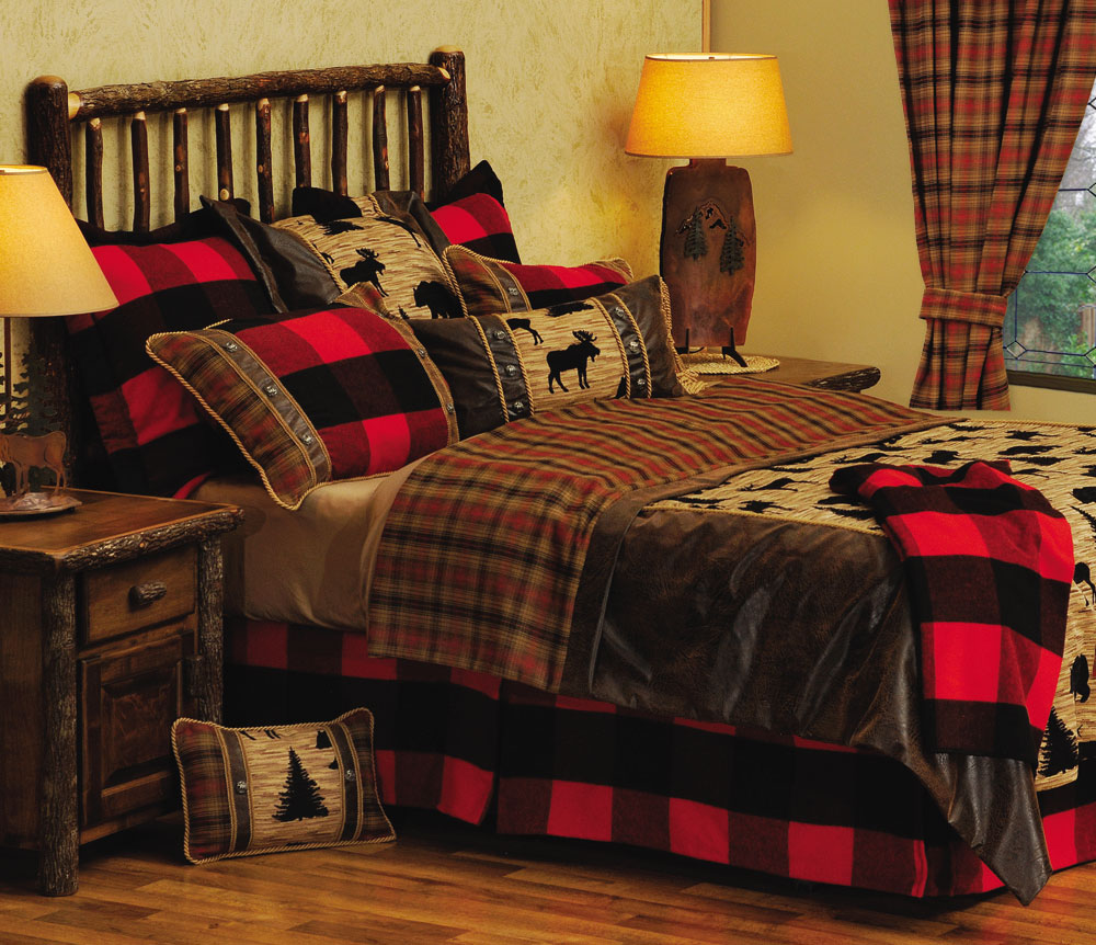 Bedding Decor: Cabin Design Bedding PDF Woodworking