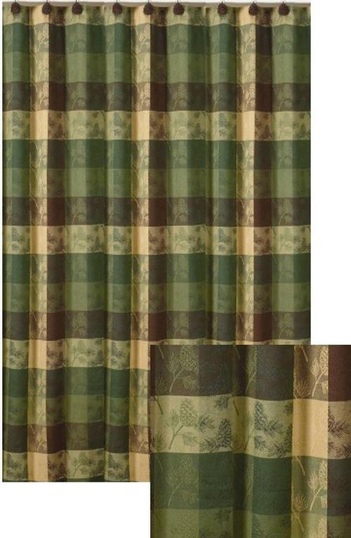 Curtains Ideas cheap camo curtains : Cabin Rustic Lodge Shower Curtains | Cabin 9 Design