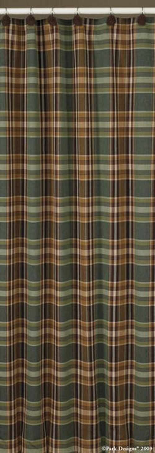 Cabin Rustic Lodge Shower Curtains | Cabin 9 Design