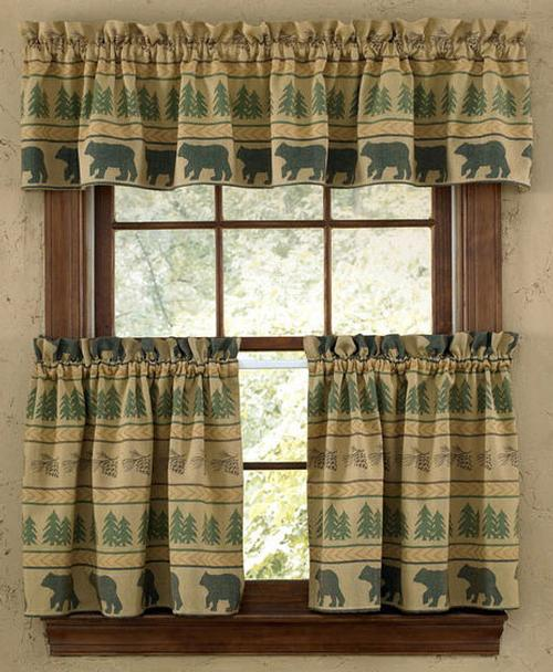 Rustic Cabin Lodge Curtains And Drapery