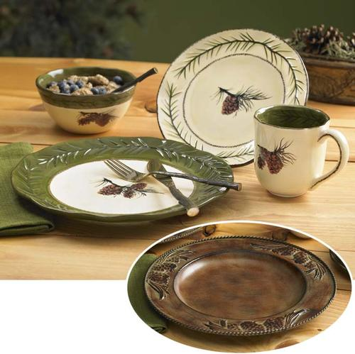 Cabin Rustic Lodge Decor Dinnerware | Dinnerware | Cabin 9 Design