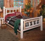 Pine Deluxe Log Bed