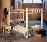 Pine Canopy Log Bed