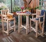 Pine Bistro Table Sets