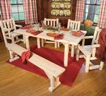 Pine Six Piece Dining Set