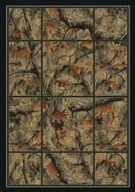 Camouflage Grid Rug Series