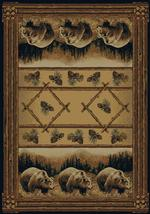 Grizzly Bear Pine Rug Series