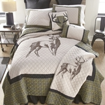 Grey's Point Quilted Bedding