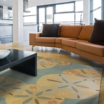 Sanddollars by the Sea Rug Series