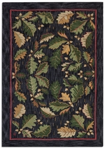 Acorns and Leaves Rug Series