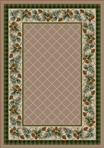 Evergreen - Sandstone - Rug Series