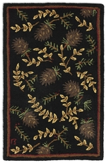 Willow and Cones Rug Series