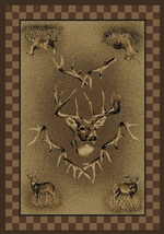 WHITE TAIL RIDGE RUG SERIES