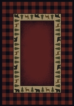 BUFFALO RED RUG SERIES