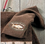 Pineland Mocha Towel Collection