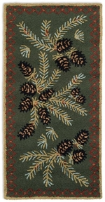 Diamond Pine Rug Series