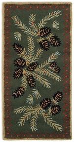 Diamond Pine Rug Series