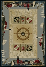 Seascape Nautical Rug Series