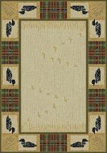 Tartan Loon Rug Series