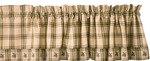 Pine Lodge Valances & Tiers