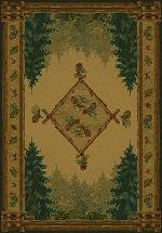 Forest Trail Lodge Rug Series
