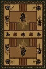Pine Barrens Contour Rug