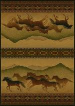 Chestnut Mare Lodge Rug Series