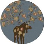 Moose Blossom - Blue
