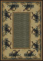 Northwood Moose Rug Series