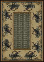 Northwood Moose Rug Series