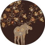 Moose Blossom - Brown