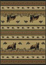 PINE CREEK BEAR RUG SERIES