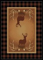 Antler Buck Legends Rug