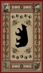 Woodlands Bear Rug Series