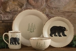 Rustic Retreat Bear Dinnerware