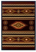Soaring Diamond Terracotta Rugs