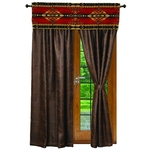 Gallop Curtains and Valance
