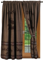 Rocky Mountain Elk Curtains