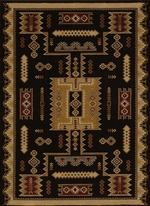 Coltan Black Rug Series