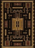 Coltan Black Rug Series